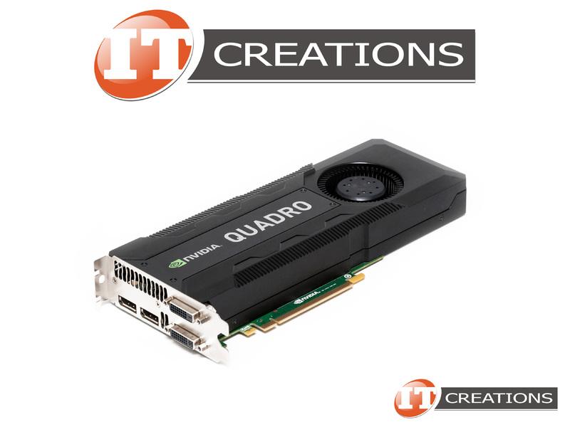 HP NVIDIA QUADRO K5000 GRAPHICS CARD 4GB 1536 CUDA VIDEO CARD GPU C2J95AA