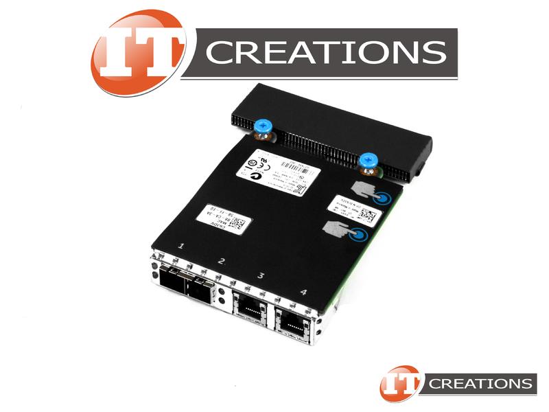 DELL X520/I350 RACK NETWORK DAUGHTER CARD RNDC FOR DELL R620 R720 R820 C63DV