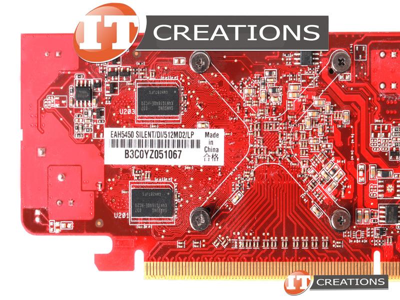 ASUS Radeon HD 512MB HDMI//DVI Video Graphics Card EAH5450 Silent//DI//512MD2//LP