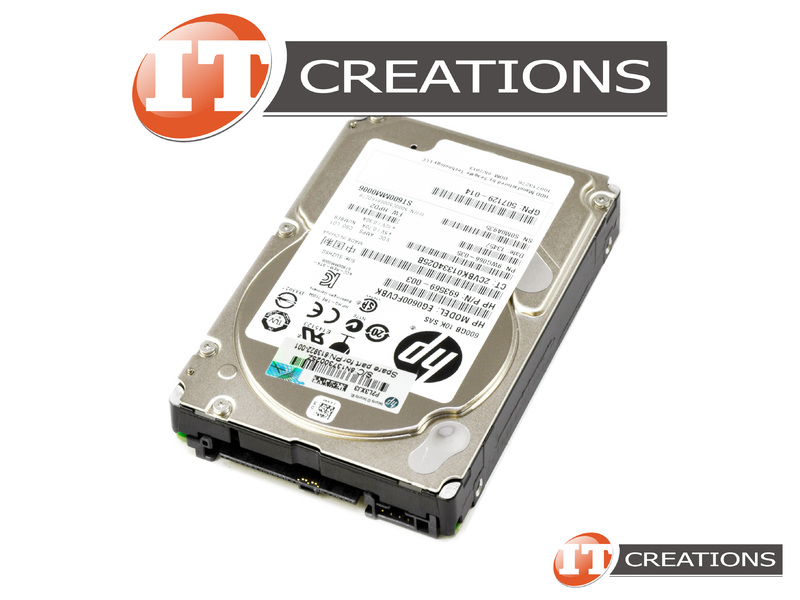 "HP EG0600FCVBK 600GB 10K RPM 2.5/"" Hot-swap SAS HDD 693569-003"