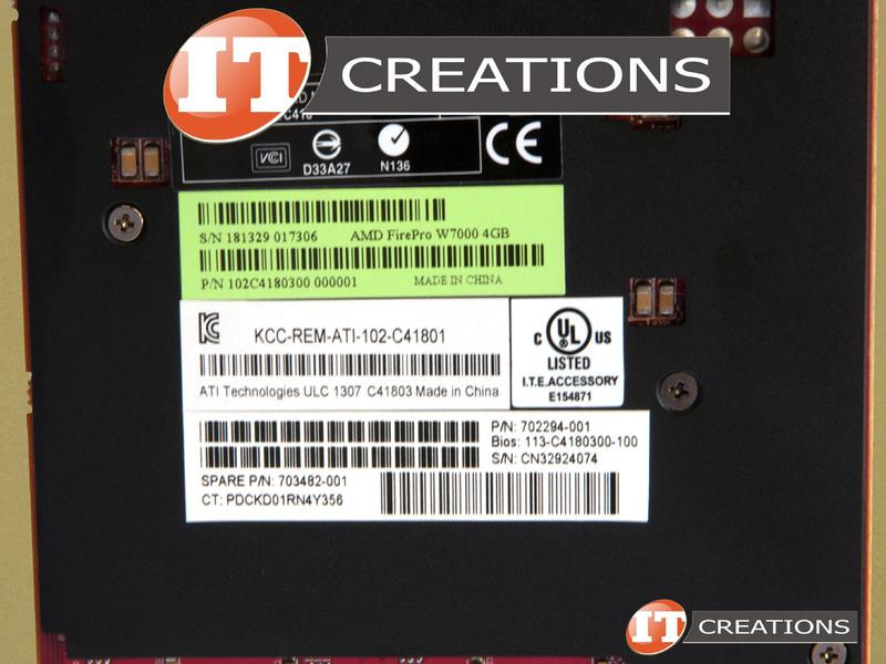 FIREPRO W7000-HP - Damaged - HP AMD FIREPRO W7000 GRAPHICS