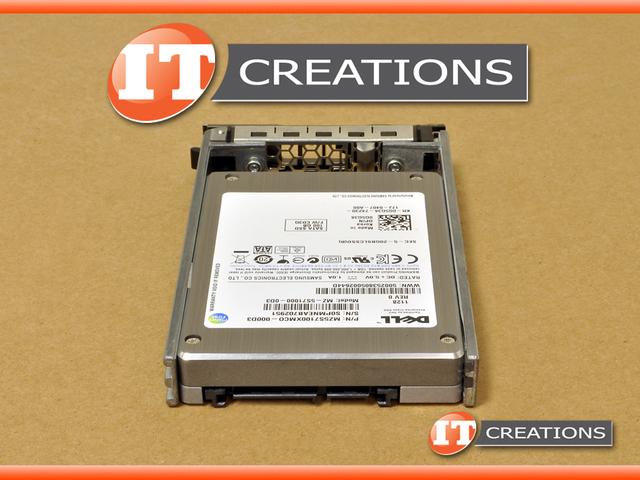 G5G38 R710 R610 - Refurbished - ( NEW TRAY ) DELL 100GB SSD SATA 2 5