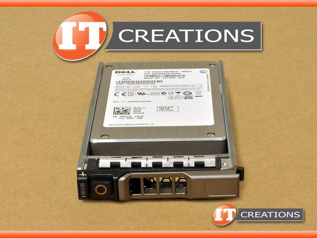 G5G38 R810 R815 - Refurbished - ( NEW TRAY ) DELL 100GB SSD