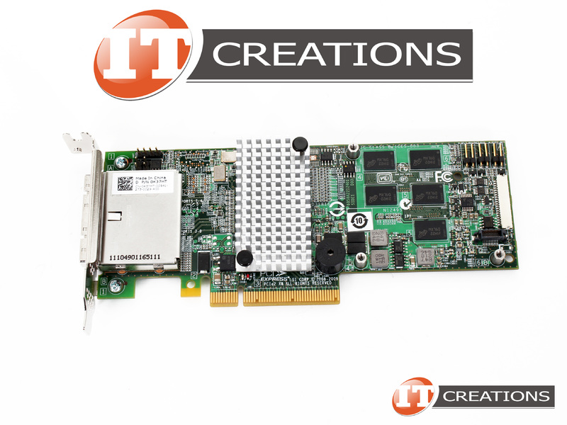 DELL LSI MEGARAID SAS 9280-8E 6GB/S EIGHT PORT PCIE RAID CONTROLLER  K37HT-LOW P
