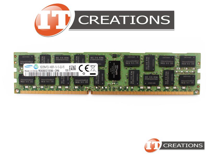 SAMSUNG 16GB PC3-14900R DDR3-1866 REGISTERED ECC 2RX4 MEMORY  M393B2G70EB0-CMA