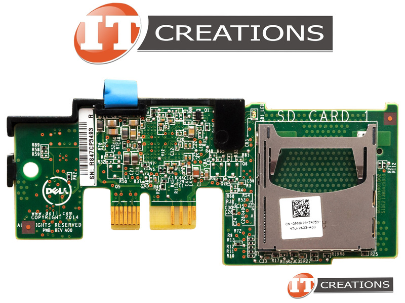 DELL INTERNAL DUAL SD MODULE RISER CARD FOR DELL POWEREDGE R430 R730 T630  PMR79