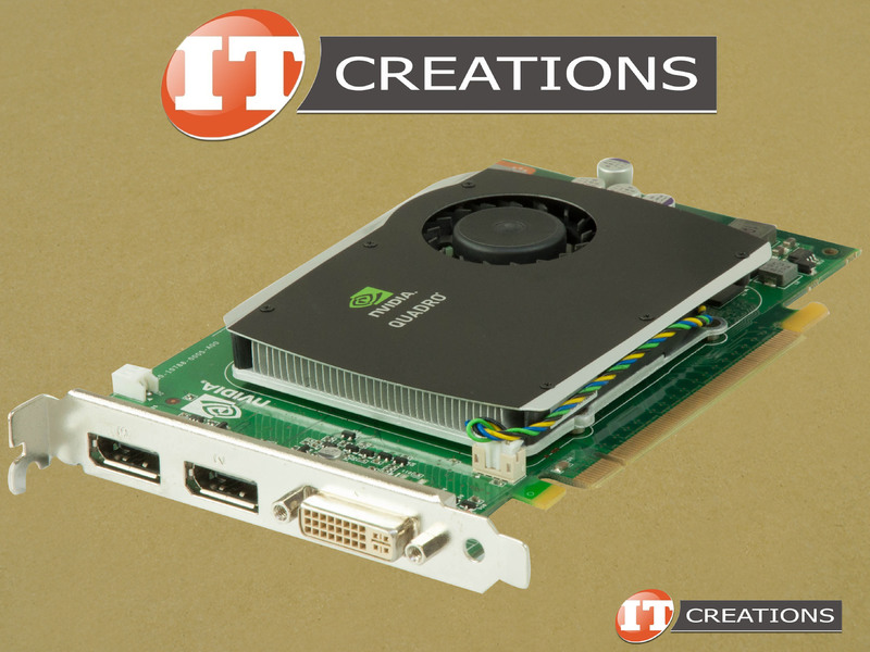 QUADRO FX580-HP - Refurbished - HP NVIDIA QUADRO FX 580 GRAPHICS CARD