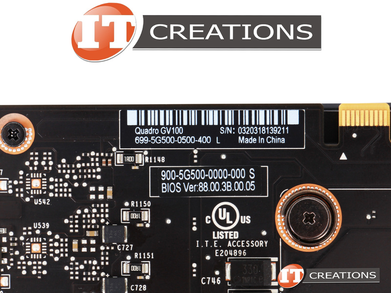 NVIDIA VOLTA GPU HBM2 GRAPHICS PROCESSING UNIT VIDEO CARD QUADRO GV100-32GB