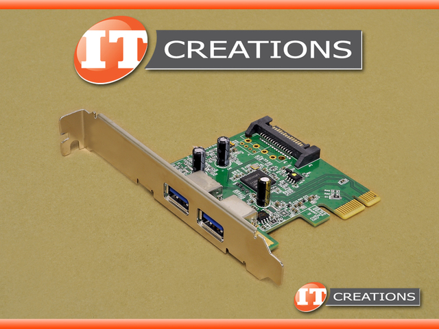 RHA314-5 HP USB CARD DUAL USB PORT SUPERSPEED 3 0 PCI-E 2 0