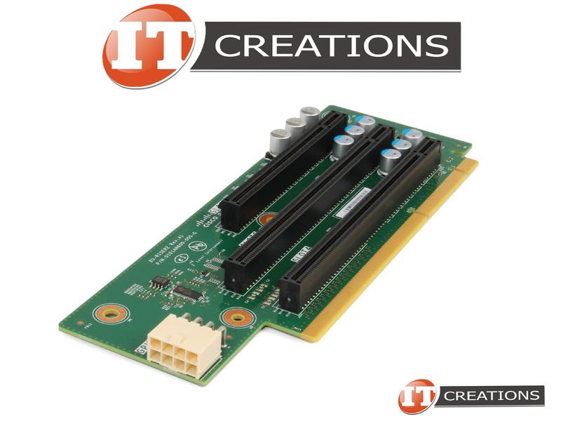 CISCO 2U RISER CARD 2 FOR CISCO UCS C240 M4 - RISER BOARD2 SLOT4 PCI-E 3 0  X8 ( X16 WIRE ) SLOT5 PCI-E 3 0 X16 SLOT6 PCI-E 3 0 X8 ( BRACKET PN: