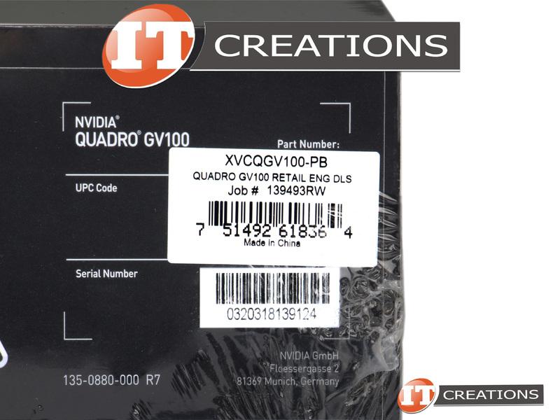 VCQGV100-PB-RETAIL - Retail - PNY NVIDIA QUADRO GV100 VOLTA