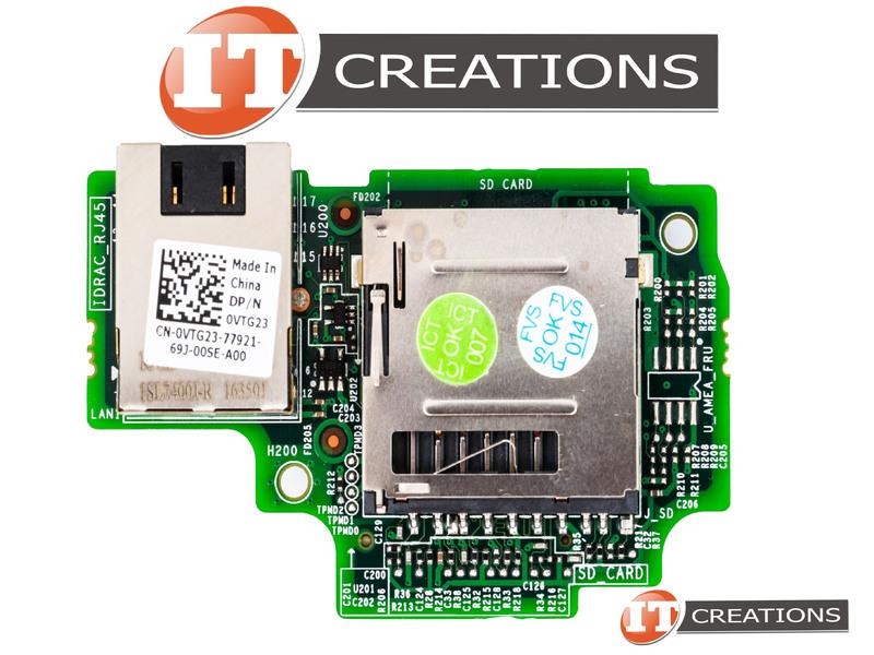 DELL IDRAC CARD FOR DELL POWEREDGE R230 / R330 - INTEGRATED REMOTE ACCESS  VTG23