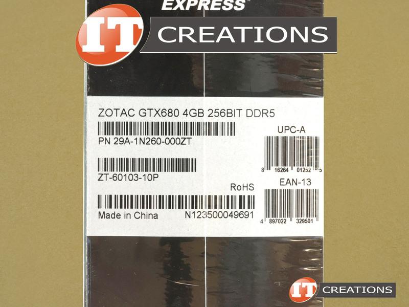 ZOTAC GEFORCE GTX 680 4GB - New - ZOTAC NVIDIA GEFORCE GTX 680 GRAPHI