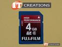 Click image to enlarge 4GB SDHC 6C HP-FUJIFILM