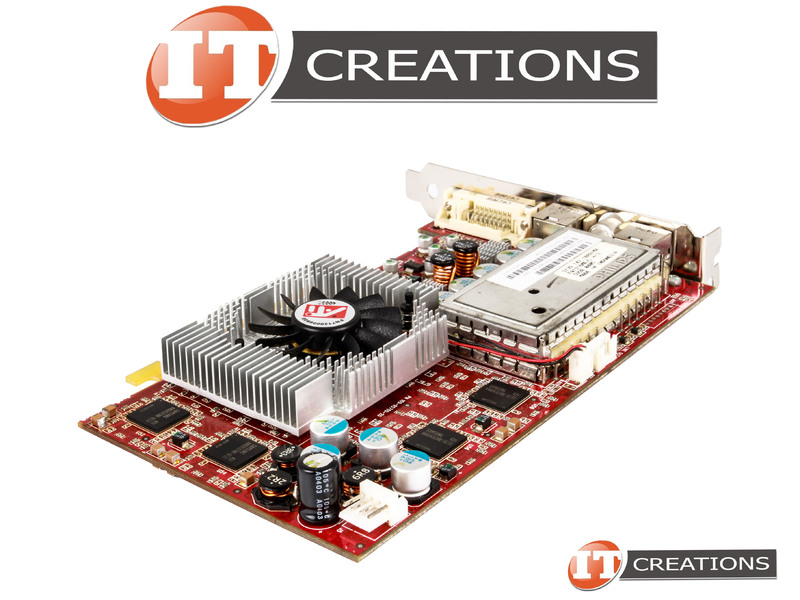 IMAGES ATI AIW RADEON 9800 SE GPU 128MB 1 ONE DUAL LINK DVI I 10 PIN VID OUT CATV CONNECTOR 8 IN GRAPHICS