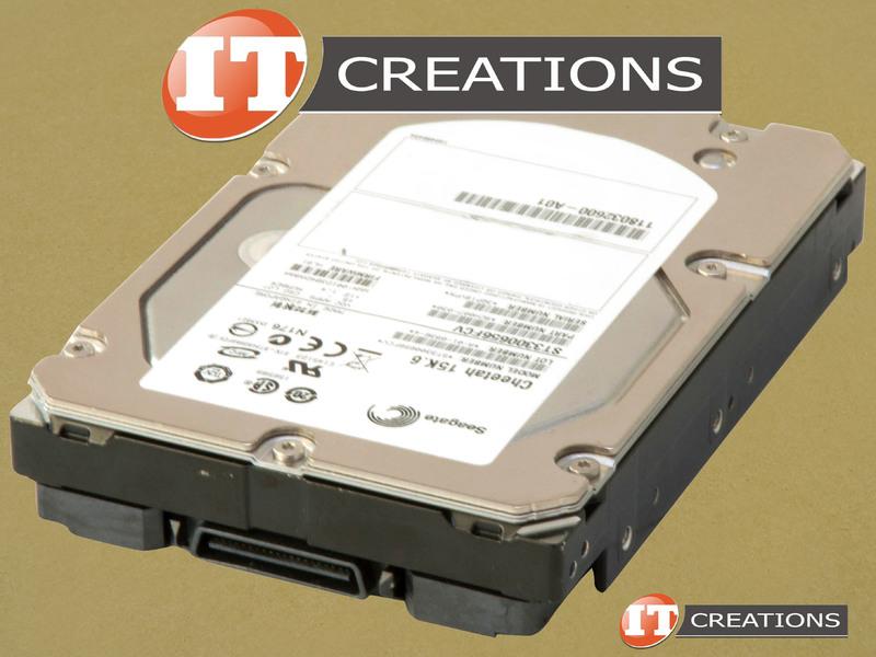 LOT OF 5 SEAGATE ST3300656FCV HDD 300GB 15K RPM FIBRE CHANNEL FC 40 PIN 3.5