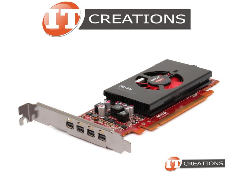 Genuine Dell AMD Firepro W4100 2GB DDR5 PCI-e 3.0 Video Graphics Card 25D14