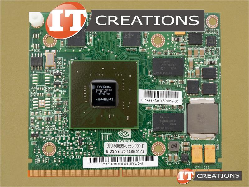 HP NVIDIA QUADRO FX 880M GRAPHICS CARD 1GB MEZ GFX GPU VIDEO CARD