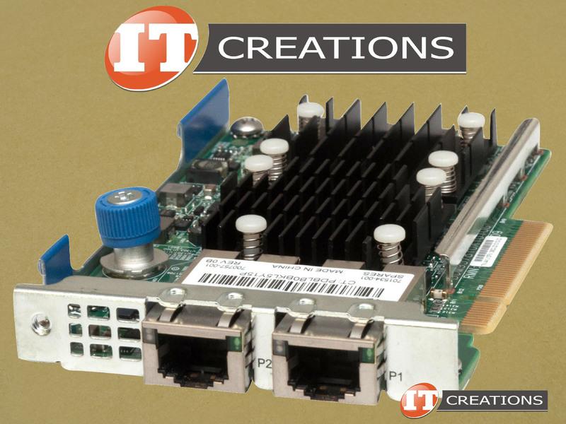 HP FlexFabric 10GB 2-Port 533FLR-T Adapter 700759-B21 701534-001