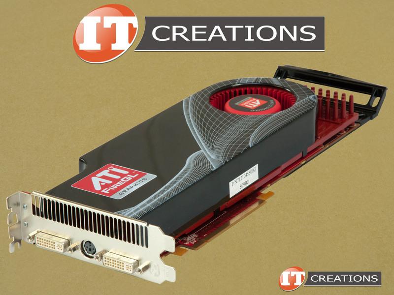 AMD ATI FireGL V8650 Graphics Card 2GB GPU Video Card 727419414968 ...