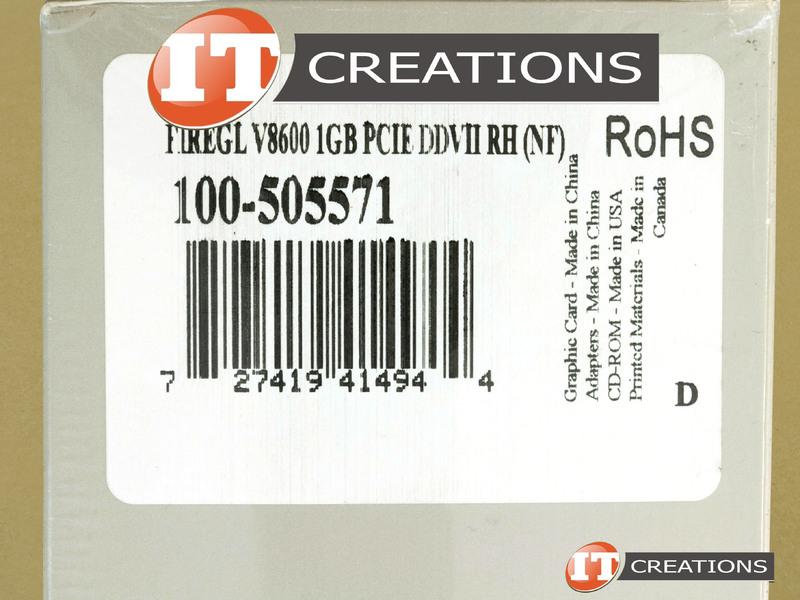 AMD ATI FireGL V8600 Graphics Card 1GB GPU Video Card ATI FireGL ...