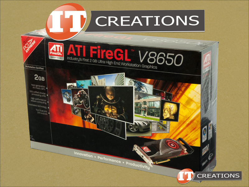 AMD ATI FireGL V8650 Graphics Card 2GB GPU Video Card ATI FireGL ...