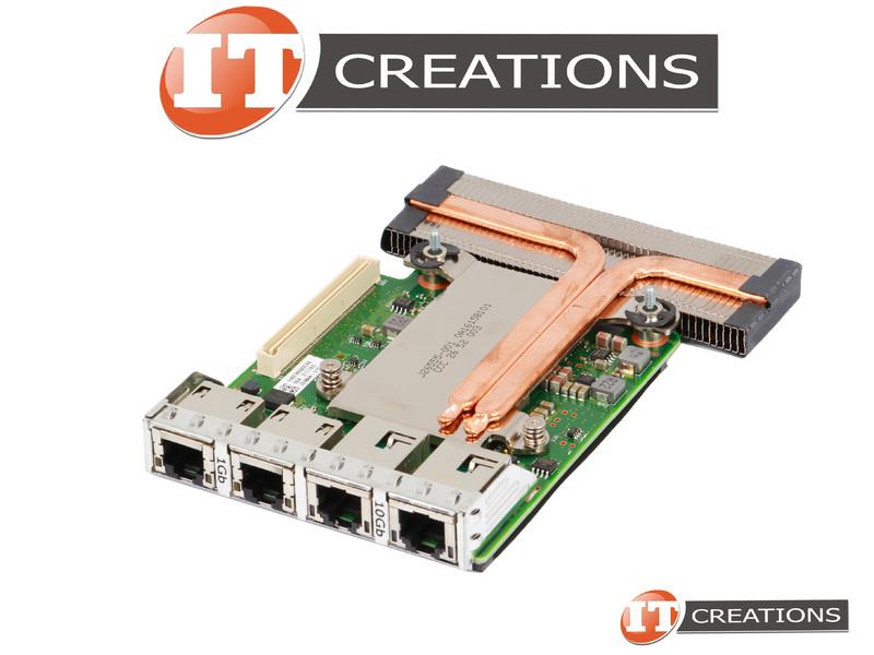 Dell Intel X550 2x 10Gb CD2VM 2x 1Gb RJ-45 Quad Port RNDC