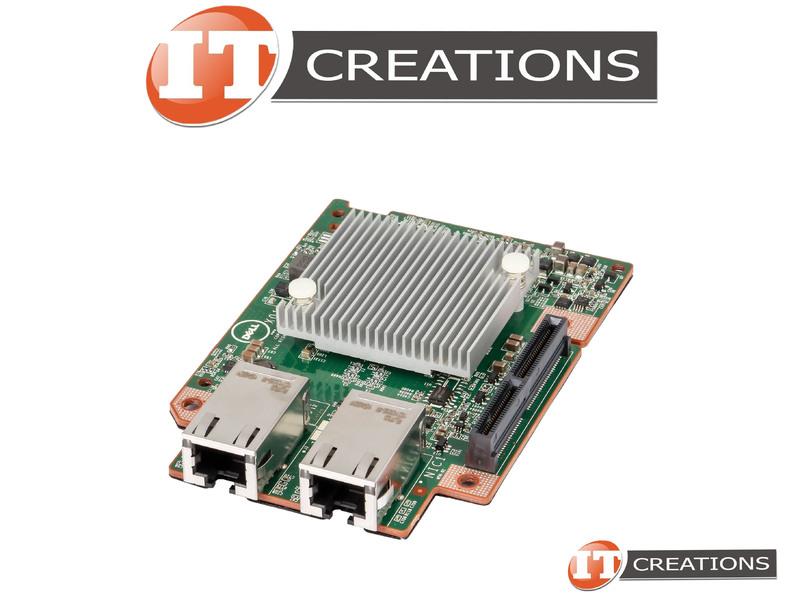0J2CD0 Dell Intel X540 10GbE Mezzanine Daughter Card For C6320 C6300
